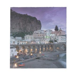 Europe, Italy, Campania (Amalfi Coast) Atrani: Notepad