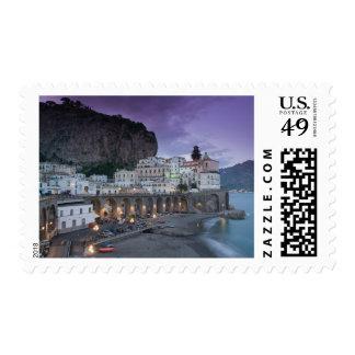 Europe, Italy, Campania (Amalfi Coast) Atrani: Postage Stamp