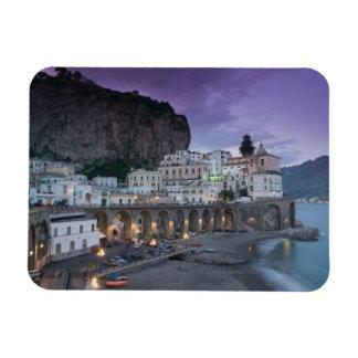 Europe, Italy, Campania (Amalfi Coast) Atrani: Rectangle Magnet