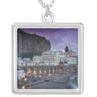 Europe, Italy, Campania (Amalfi Coast) Atrani: Silver Plated Necklace