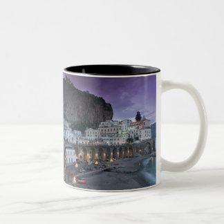 Europe, Italy, Campania (Amalfi Coast) Atrani: Two-Tone Coffee Mug