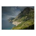 Europe, Italy, Campania (Amalfi Coast) Positano: Card