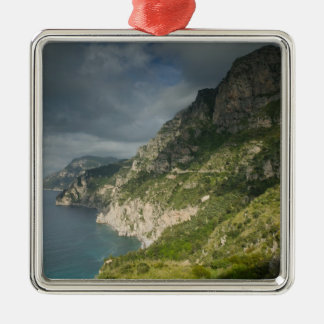 Europe, Italy, Campania (Amalfi Coast) Positano: Metal Ornament