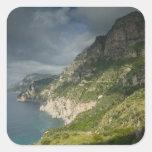 Europe, Italy, Campania (Amalfi Coast) Positano: Square Sticker