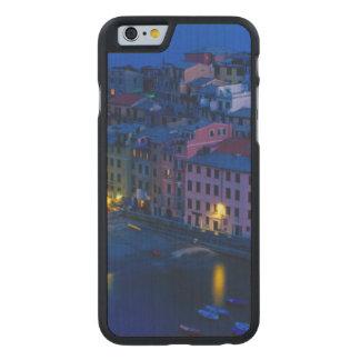 Europe, Italy, Cinque Terre, Vernazza. Hillside Carved Maple iPhone 6 Slim Case