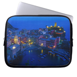 Europe, Italy, Cinque Terre, Vernazza. Hillside Laptop Computer Sleeves
