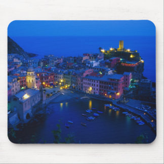 Europe, Italy, Cinque Terre, Vernazza. Hillside Mouse Pad