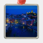 Europe, Italy, Cinque Terre, Vernazza. Hillside Ornaments