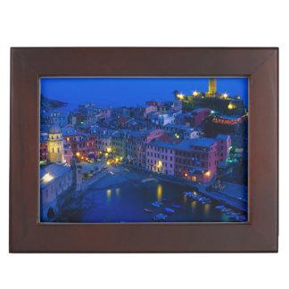 Europe, Italy, Cinque Terre, Vernazza. Hillside Memory Box