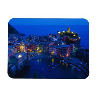 Europe, Italy, Cinque Terre, Vernazza. Hillside Rectangular Magnets