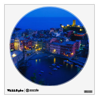 Europe, Italy, Cinque Terre, Vernazza. Hillside Wall Skin