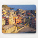 Europe, Italy, Cinque Terre. Village of Vernazza Mouse Pad