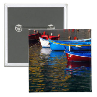 Europe, Italy, Cinque Terry, boats in Vernazza Button