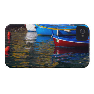 Europe, Italy, Cinque Terry, boats in Vernazza iPhone 4 Cover