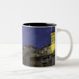 Europe, Italy, Florence, Architectural detail; Two-Tone Coffee Mug