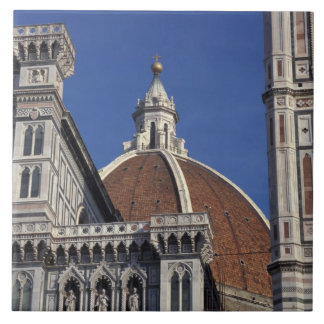 Europe, Italy, Florence. Duomo Cathedral Ceramic Tile