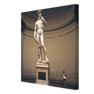 Europe, Italy, Florence. The actual size of Canvas Print