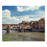 Europe, Italy, Florence. The Ponte Vecchio Photo Print