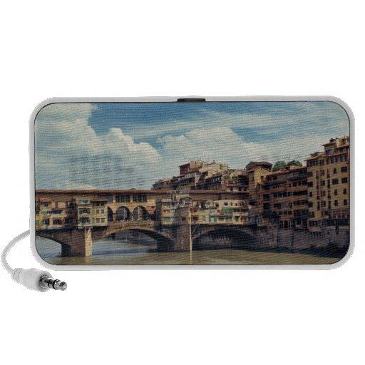 Europe, Italy, Florence. The Ponte Vecchio Portable Speaker
