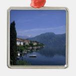 Europe, Italy, Lake Como, Tremezzo. Northern Christmas Ornaments