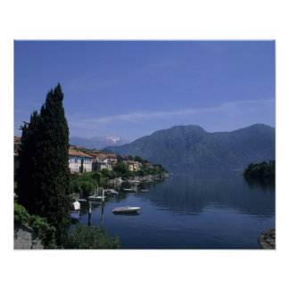 Europe, Italy, Lake Como, Tremezzo. Northern Poster