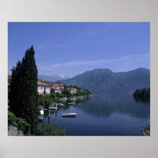 Europe, Italy, Lake Como, Tremezzo. Northern Poster
