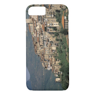 Europe, Italy, Liguria, Apricale. Riviera Di iPhone 8/7 Case