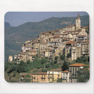 Europe, Italy, Liguria, Apricale. Riviera Di Mouse Pad