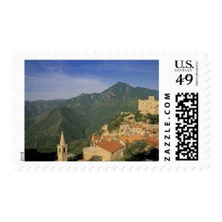 Europe, Italy, Liguria, Castelvecchio Di Rocca Postage