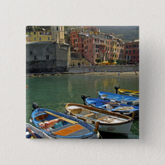 Europe, Italy, Liguria region, Cinque Terre, 2 Pinback Button
