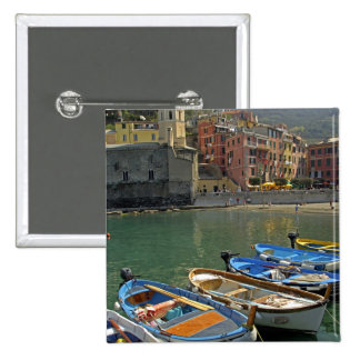 Europe, Italy, Liguria region, Cinque Terre, 2 Pinback Button