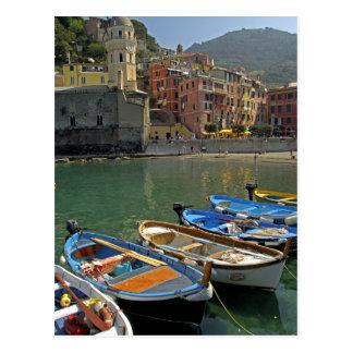 Europe Italy Liguria region Cinque Terre 2 Postcard