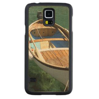 Europe, Italy, Liguria region, Cinque Terre, 3 Carved® Maple Galaxy S5 Slim Case