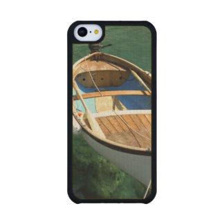 Europe, Italy, Liguria region, Cinque Terre, 3 Carved® Maple iPhone 5C Case