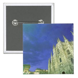 Europe, Italy, Lombardia, Milan. The Duomo, Button