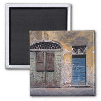 Europe, Italy, Lucca. These old doors add Magnet