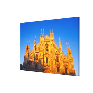 Europe, Italy, Milan, Cathedral of Milan Canvas Print