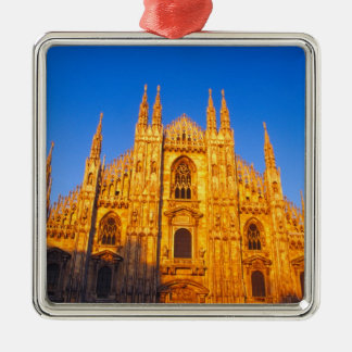 Europe Italy Milan Cathedral of Milan Christmas Ornaments