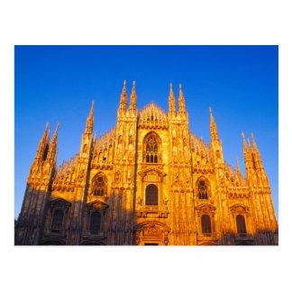 Europe, Italy, Milan, Cathedral of Milan Postcard