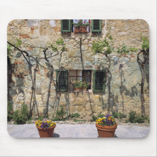 Europe, Italy, Monteriggioni. A stone house is Mouse Pad