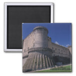 Europe, Italy, Naples, Castle Nuovo Magnets