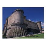 Europe, Italy, Naples, Castle Nuovo Postcard