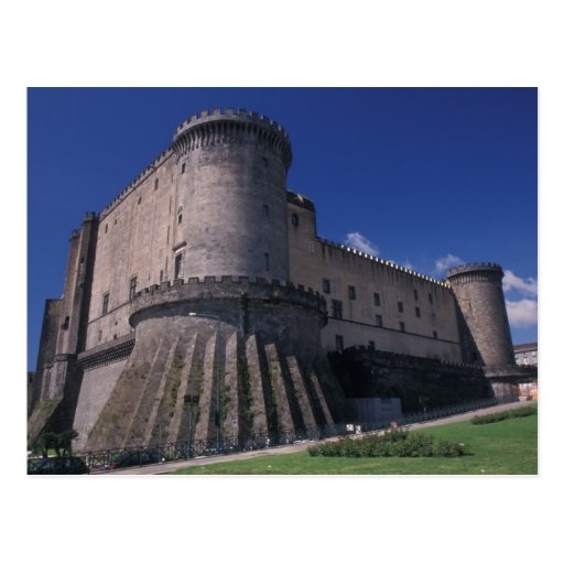 Europe, Italy, Naples, Castle Nuovo Postcards