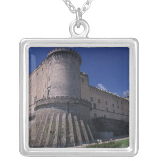 Europe, Italy, Naples, Castle Nuovo Silver Plated Necklace