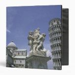 Europe, Italy, Pisa, Leaning Tower of Pisa 3 Ring Binder