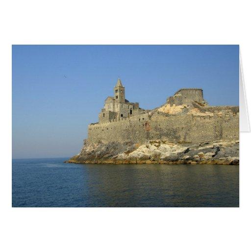 Europe, Italy, Portovenere aka Porto Venere. 2 Greeting Card
