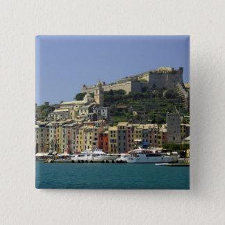 Europe, Italy, Portovenere aka Porto Venere. Pinback Button