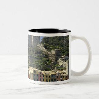 Europe, Italy, Portovenere aka Porto Venere. Two-Tone Coffee Mug