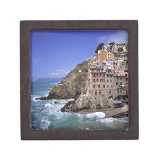 Europe, Italy, Riomaggiore. Riomaggiore is built Keepsake Box