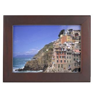 Europe, Italy, Riomaggiore. Riomaggiore is built Memory Box